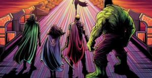 The Hero Complex Thor: Ragnarok Art Showcase Gallery (Walkthrough Video)!