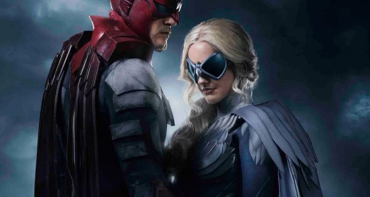 DC's Titans: First Look At Hawk & Dove!