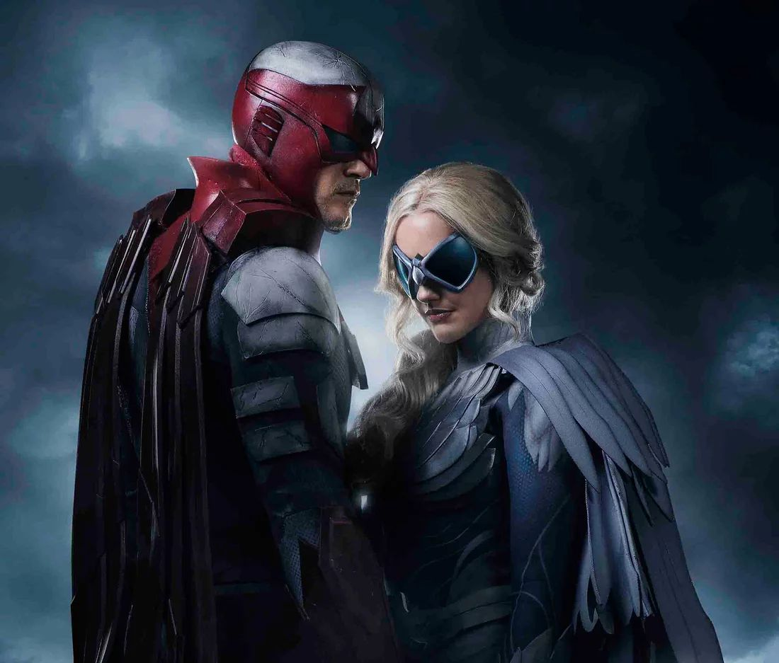 First look at Hawk and Dove from DC's Titans