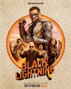 BLACK LIGHTNING's Cool New Poster!