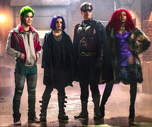DC's TITANS: 2nd Trailer Released/NETFLIX to Distribute Internationally