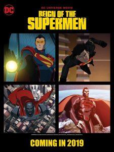 IT'S RAINING SUPERMEN: In This Animated Sequel