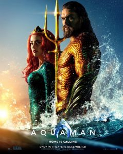 AQUAMAN POSTER: King & Queen Of The Sea!