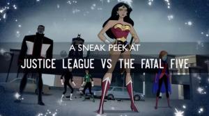 JUSTICE LEAGUE Vs FATAL FIVE: The Featurette