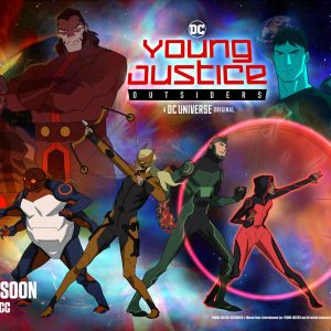 YOUNG JUSTICE: OUTSIDERS – 2nd Half Teaser