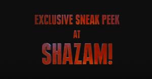 SHAZAM SNEAK PEEK: Too Much Of A Good Thing?