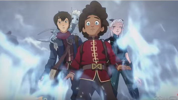 NETFLIX-THE DRAGON PRINCE: Season 3 Is Here. Surprise!!