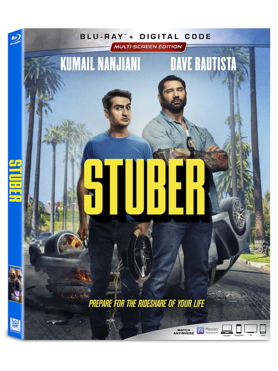 Stuber Blu-ray