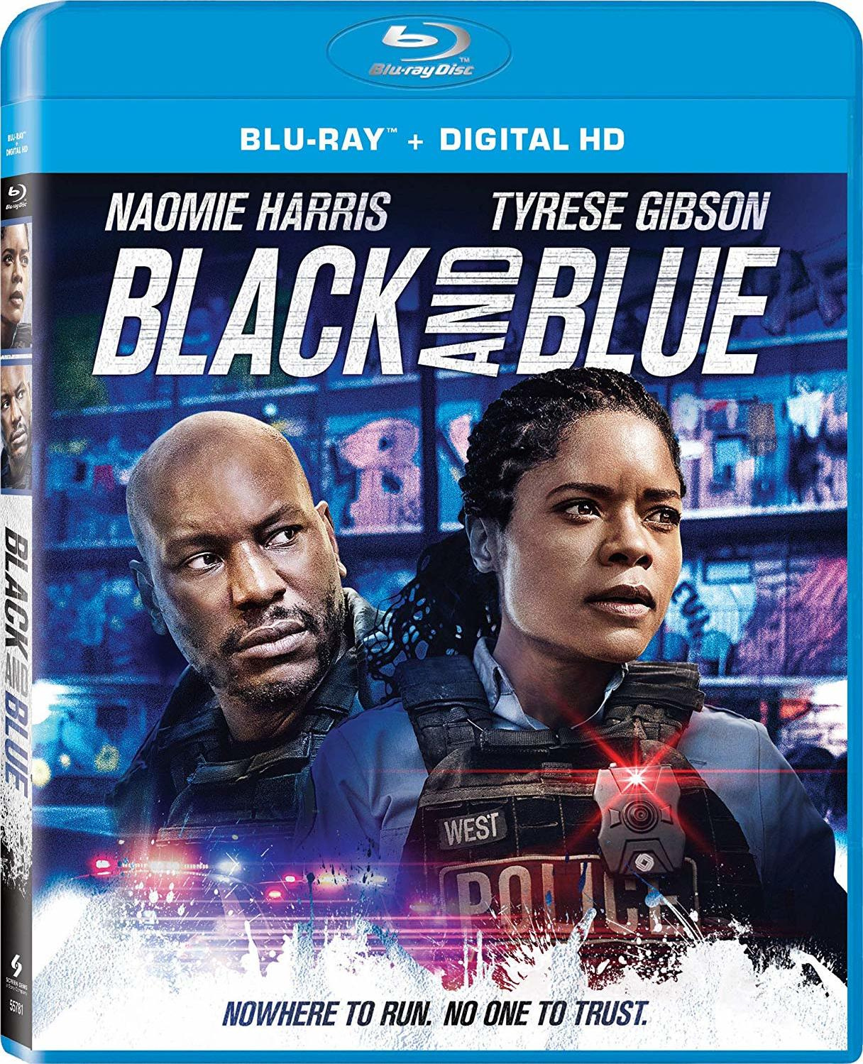 Black and Blue Blu-ray