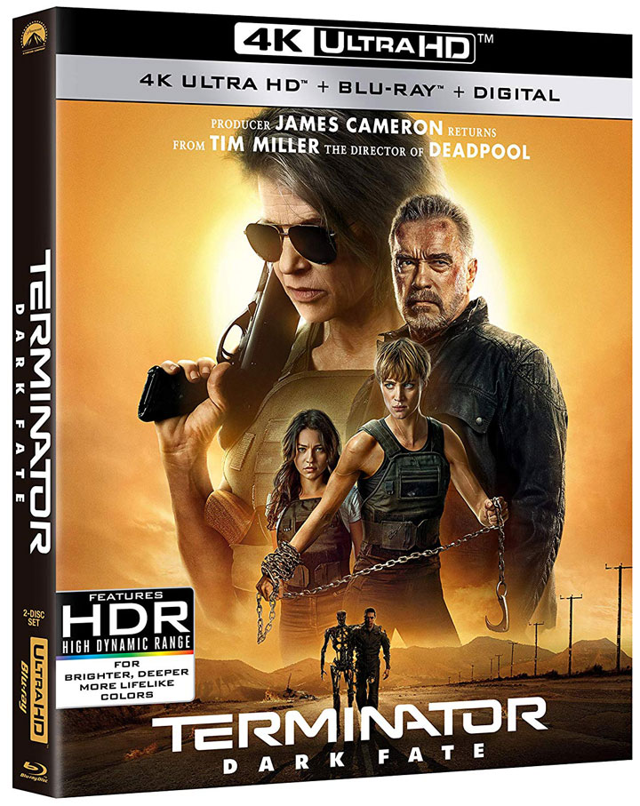 Terminator Dark Fate 4K Ultra HD MovieReview