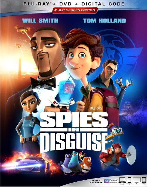 Spies in Disguise Blu-ray/4K