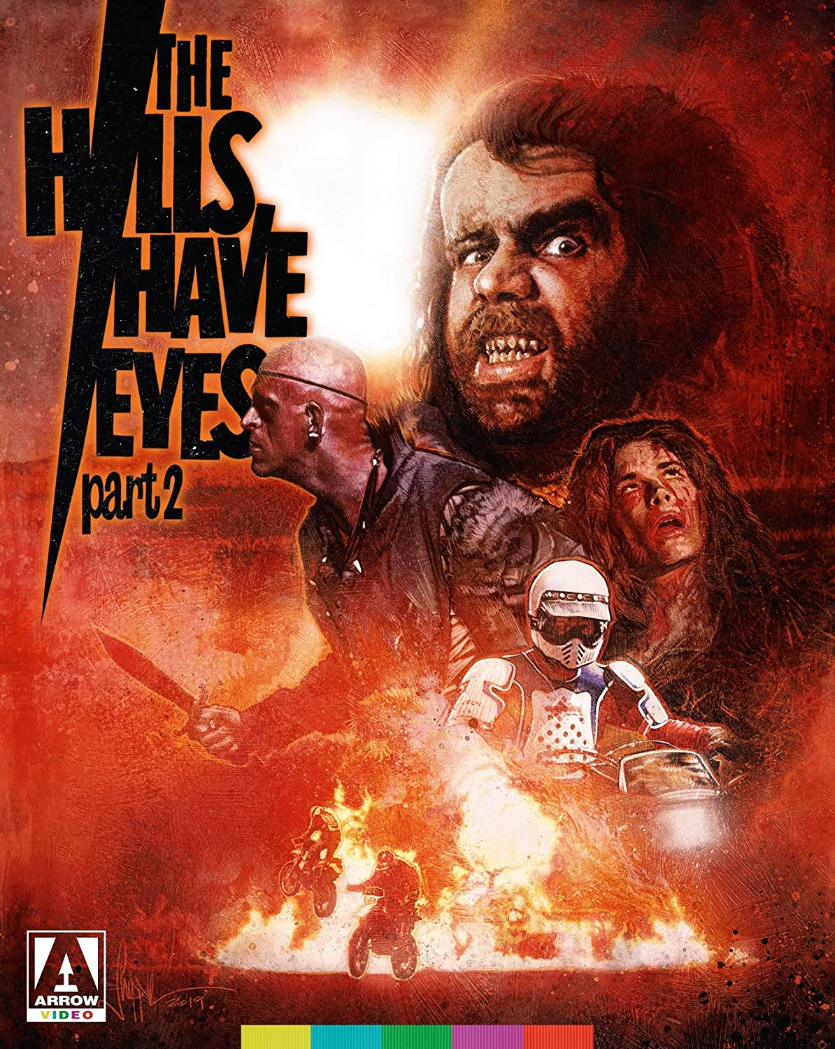 The Hills Have Eyes Part 2 Blu-ray
