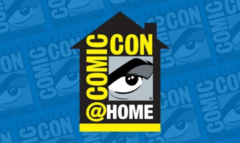 COMIC-CON@HOME:  BEGINS TOMORROW – JULY 22nd