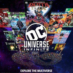 DC UNIVERSE:  EVOLVING INTO 'DC UNIVERSE INFINITE'