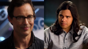 THE FLASH: CISCO & WELLS TO EXIT AT SEASON'S END