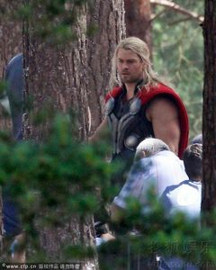 """Leaked Images From """"Avengers: Age of Ultron"""""""