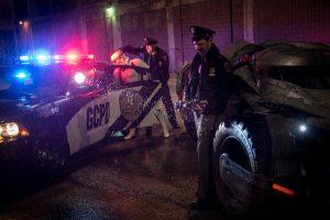 """Gotham Cops Arrest Stormtrooper in """"Batman v. Superman"""" Image!"""