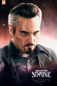 Doctor Strange Concept Art of Joaquin Phoenix