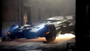 Closer Look At The BATMAN v SUPERMAN Batmobile