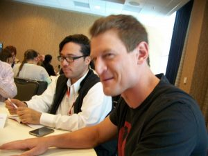 SDCC Roundtable: Philip Winchester Says He Hopes to Bring Back 80's Style Action with THE PLAYER