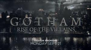 New Gotham Season 2 Promo – Rise Of The Villains