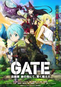 """""""Gate"""" season 2 premiering on CrunchyRoll."""
