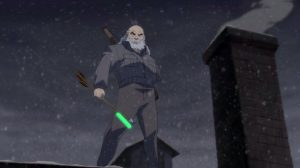 Stephen Amell Teases 'The Dark Knight Returns' Green Arrow