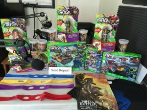 NERD REPORT PODCAST Ep 15: TMNT: OUT OF THE SHADOWS Giveaways & More!