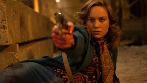 Brie Larson Roundtable: Taking Action in <em>Free Fire</em> and <em>Captain Marvel</em>