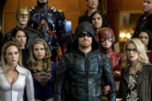 The CW: Crisis On Earth-X Banner