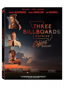 Three Billboards Outside Ebbing, Missouri Blu-Ray Review