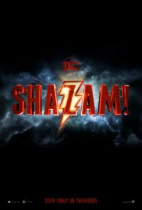 SHAZAM: OFFICIAL 1st Picture And Logo
