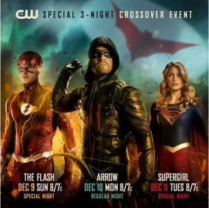THE FLASH, ARROW, SUPERGIRL: This Year's CW Crossover event