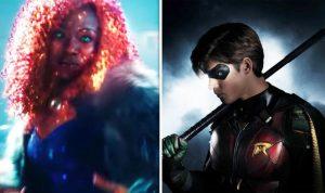 DC's TITANS: Starfire Clip and Robin Clip
