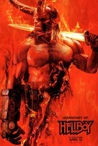 NEW HELLBOY POSTER!