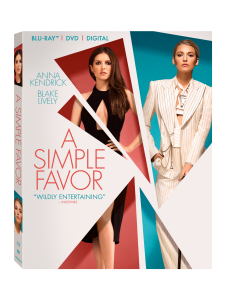 <em>A Simple Favor</em> Blu-ray Review: Triple Commentary Indemnity