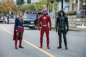 CW CROSSOVER STARTS SUNDAY!  – And We Got More Pix