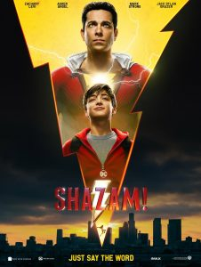 SHAZAM! IT'S A NEW POSTER