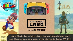 VR Support coming to Breath of the Wild and Super Mario Odyssey
