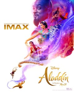 ALADDIN: New IMAX Poster