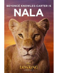 'THE LION KING' SNEAK PEEK: Beyoncé is Nala