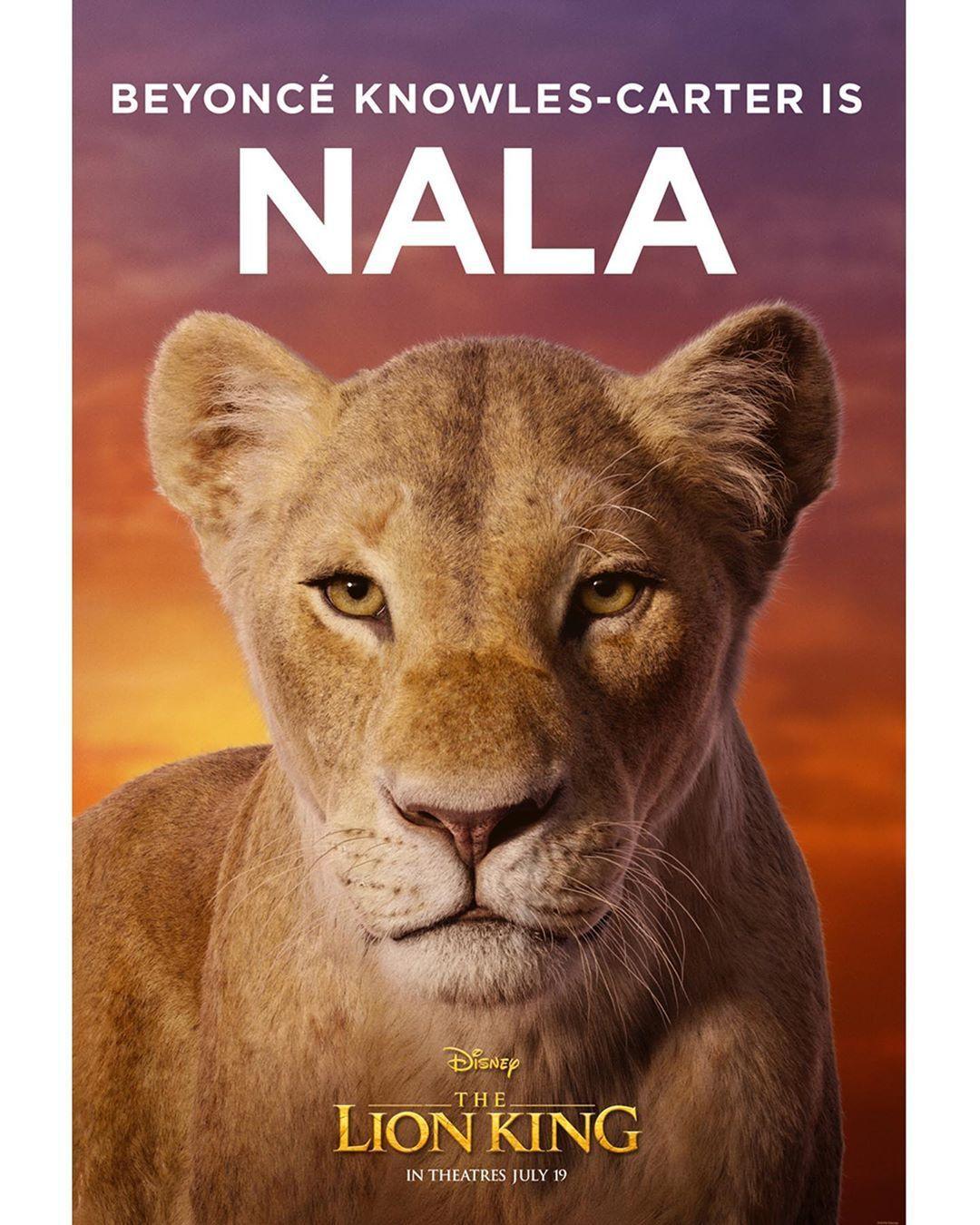 u2018the lion king u2019 sneak peek  beyonc u00e9 is nala