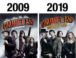 ZOMBIELAND-DOUBLE TAP:  Finally Gets A Trailer