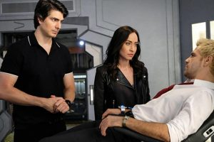DC's LEGENDS OF TOMORROW: Brandon Routh & Courtney Ford Exit In Season 5