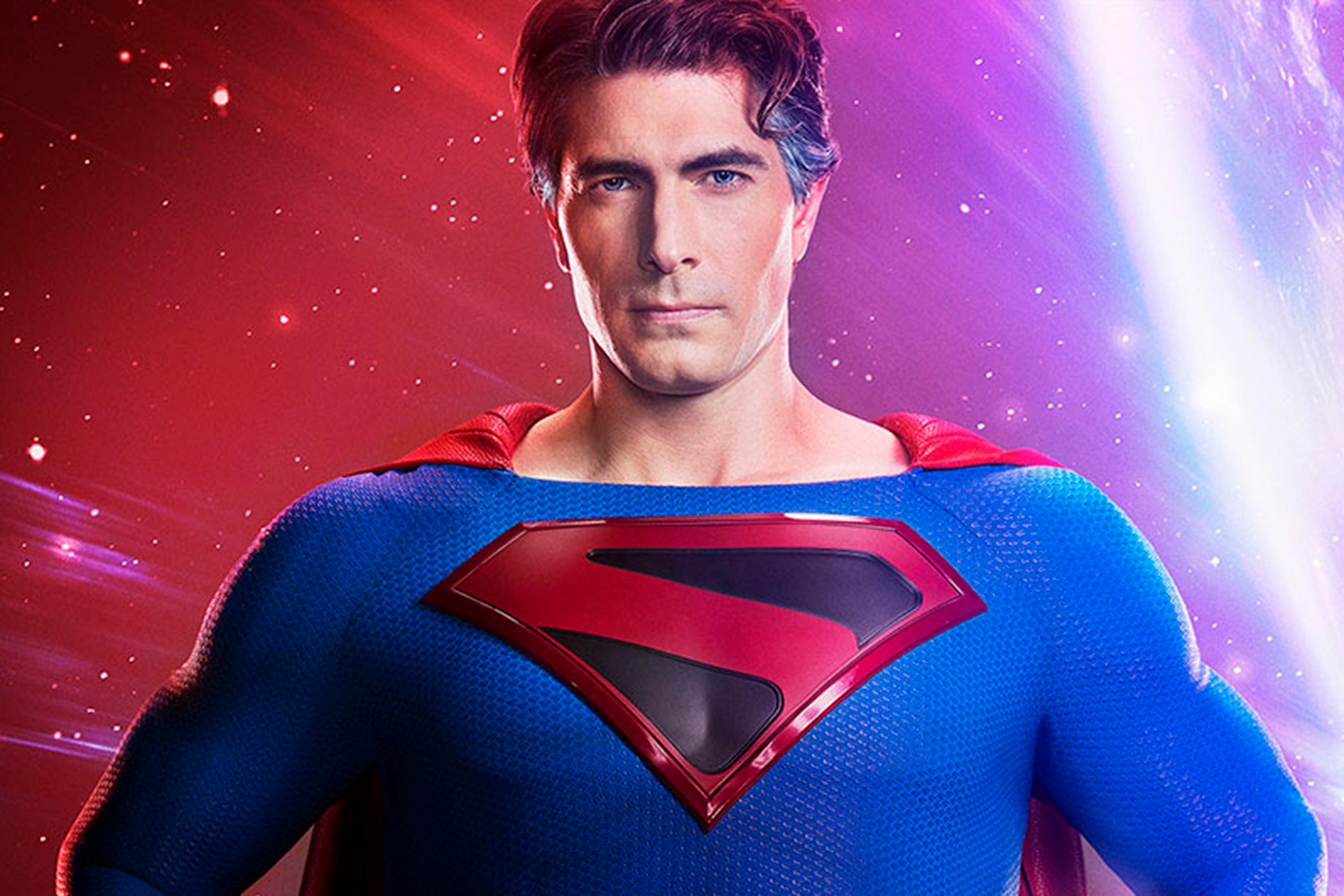 First Look at Brandon Routh as Superman in the CW's Crisis on Infinite Earths!