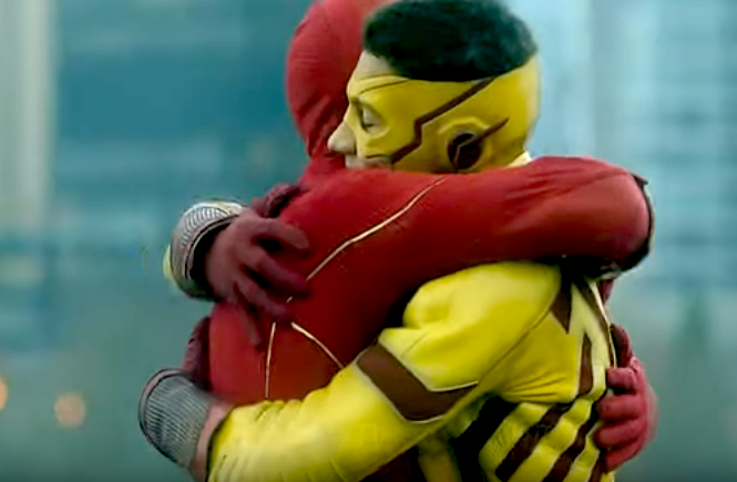 THE FLASH PROMO: Kid Flash Speeds Back To Town