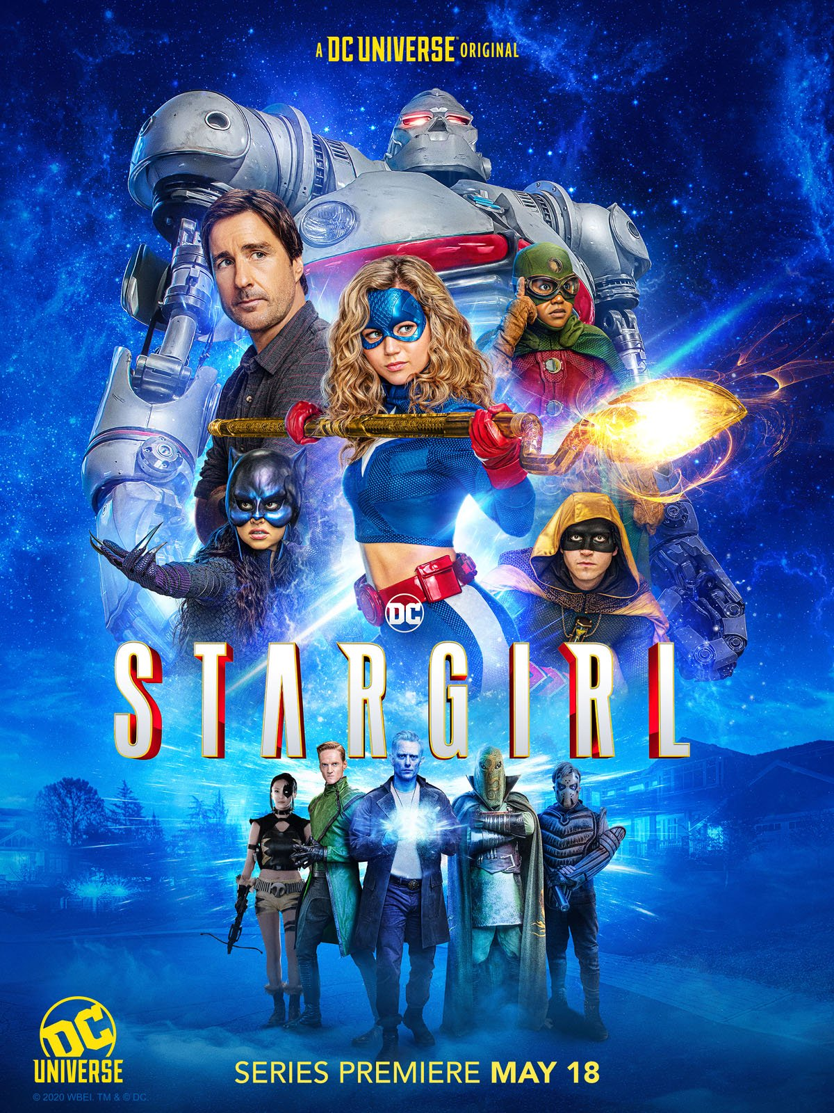 'STARGIRL' GETS A SEASON 2: BUT NOT ON 'DC UNIVERSE'