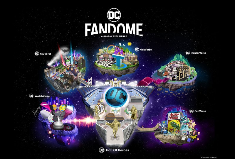 DC FANDOME: JIM LEE VIDEO EXPLAINS THE EVENT'S DESIGN