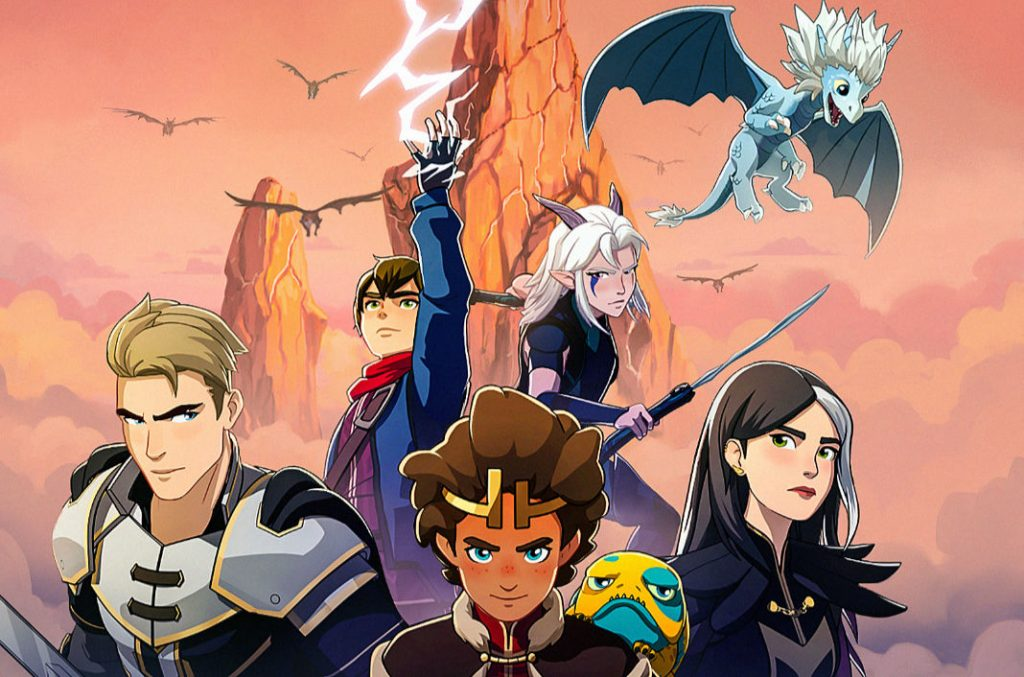 COMIC-CON@HOME: 'THE DRAGON PRINCE' PANEL (And YES, The show Continues)