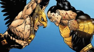 'BLACK ADAM' FINDS A HAWKMAN